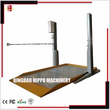 CE Two Post Mechanical Simple Parking Stackers Car Elevator