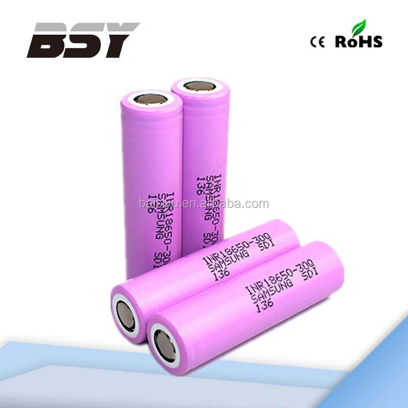 High capacity 18650 li-ion rechargeable battery Samsung 30Q 1.2v ni cd rechargeable samsung inr18650-13q 1300mah li-ion battery