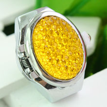 China Movement Digital Finger Ring Watch