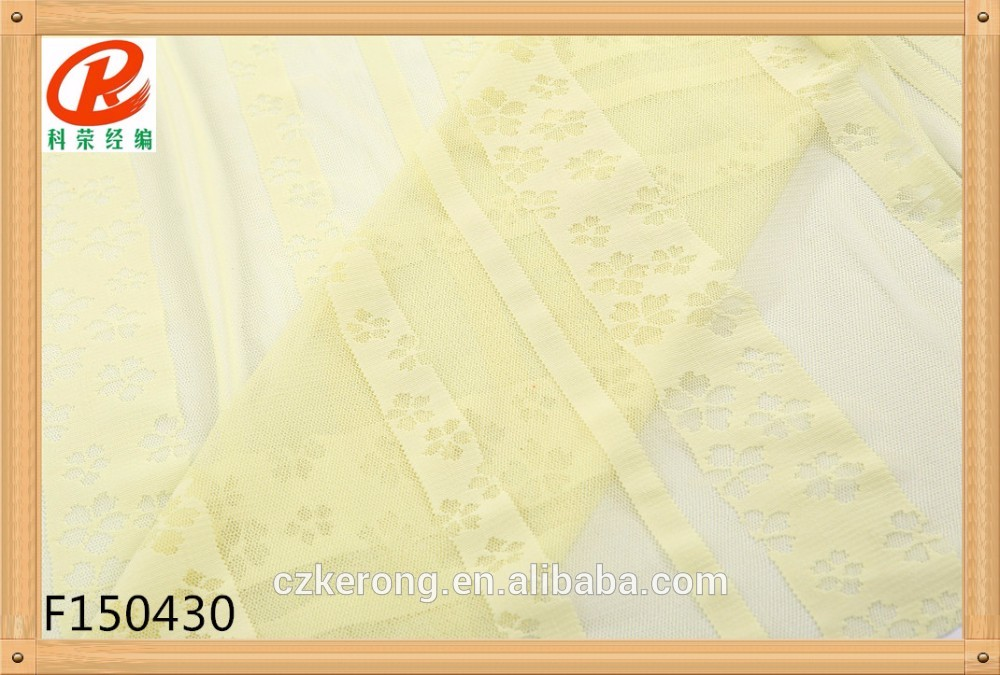 Low price of Decorative pattern sheer lace fabric Hot Sale On Line