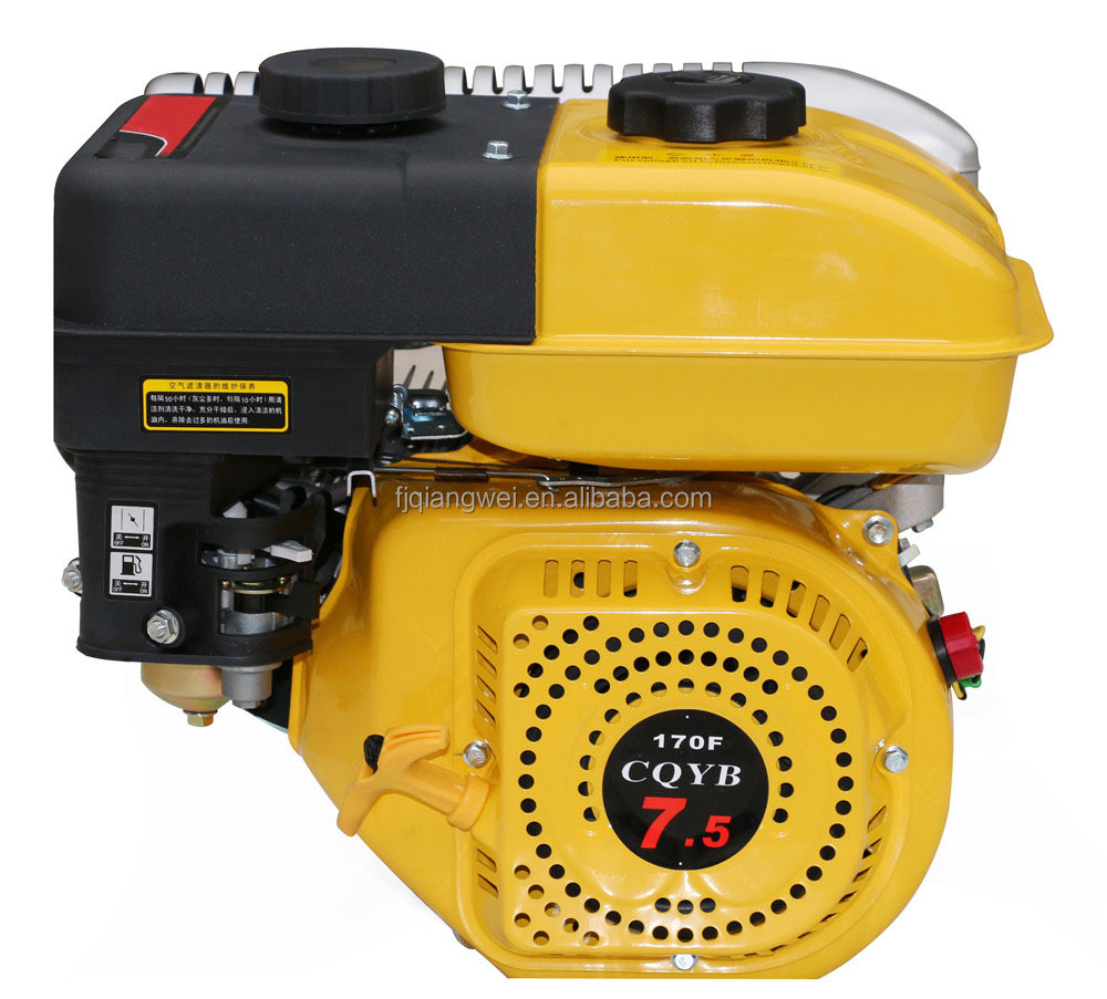 Gasoline Motor Engine, Recoil start air-cooled gasoline engine power