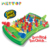 Funny intelligent Educational toys booby trap shooting Bounce game toys for kids