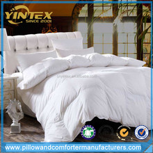 Yintex New Design Large Stock Colorful With Good Quality White Bed Natural Down Quilt/Duvet