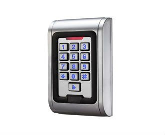 EM Style Flush-mount Durable Metal Access Control Keypad