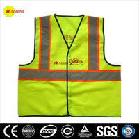 reflective vest with customer logos meeting EN471, ANSI/ISEA Class 2