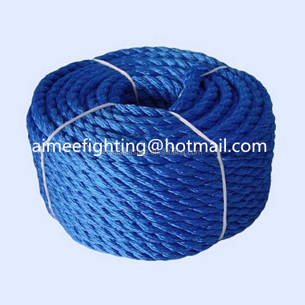 strong plastic twisted outdoor rope