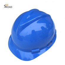 Various colors available engineering Adjustable Industrial construction blue crash helmete