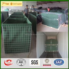 Kuwait hesco gabion/hesco bastion concertainer/5mm hesco mil10