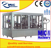 China good quality washing/filling/sealing 12 head water bottling line with ce certificate