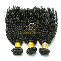 Can be dyed any color strong vitality kinky curly brazilian hair wholesale in brazil