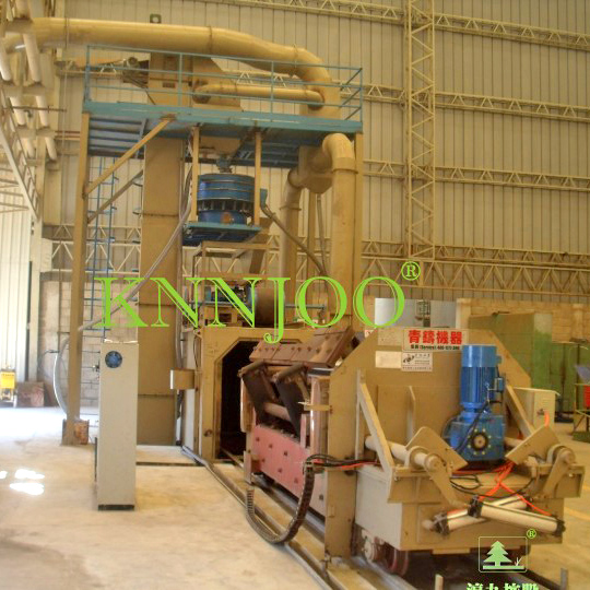 Roll Texturing Shot Blasting Machine/Mill Roller Roughen Shot Blasting Machine