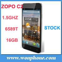 ZOPO C2 Quad core MTK6589 Android 4.2 Mobile Phone 5'' FHD 1920*1080 Screen 13.0M Camera 3g