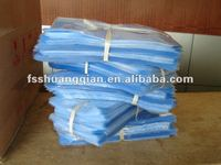 different sizes pvc shrinking plastic bags for out packing