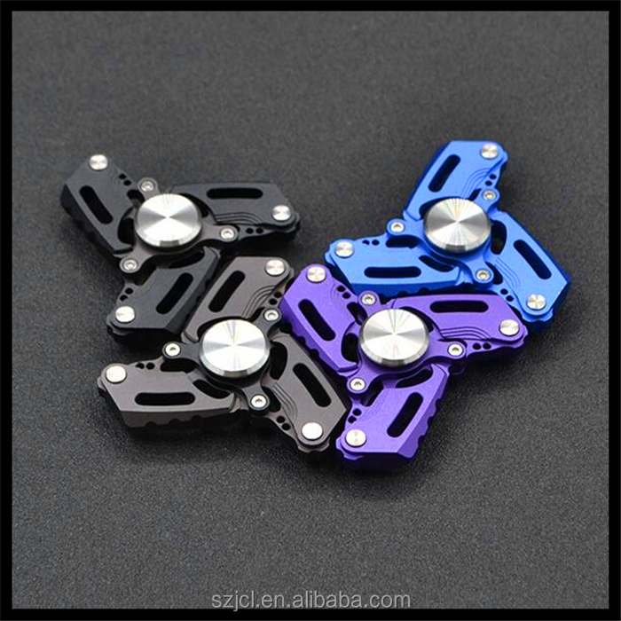 2017 High-end Fidget Spinner Small CKF Double Bearing R188 High Quality Spinner With Steel Cover