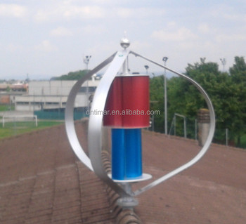 600w Vertical Axis Residential Wind Turbine for Wind Solar Power System