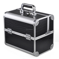 Professional Cosmetic Nail Jewelry Case Aluminum Makeup Vanity Case