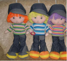 Wearing fashion jeans boys 35cm cloth dolls