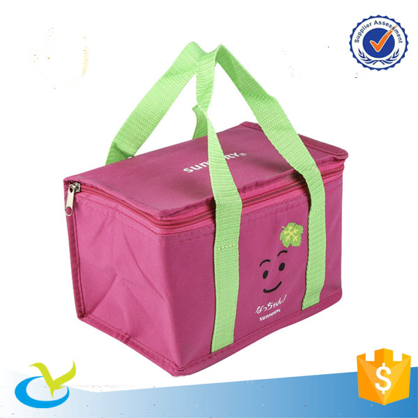 cooler fitness lunch box cooler bag with hard bottom for student
