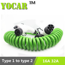24 month warranty male female wire connectors type1 wire to wire connectors Yocar evse cable