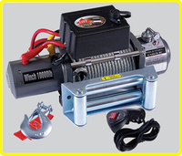12v/24v dc truck 4wd winch , electric 10000lb winch , heavy duty electric 4 wheeler winch