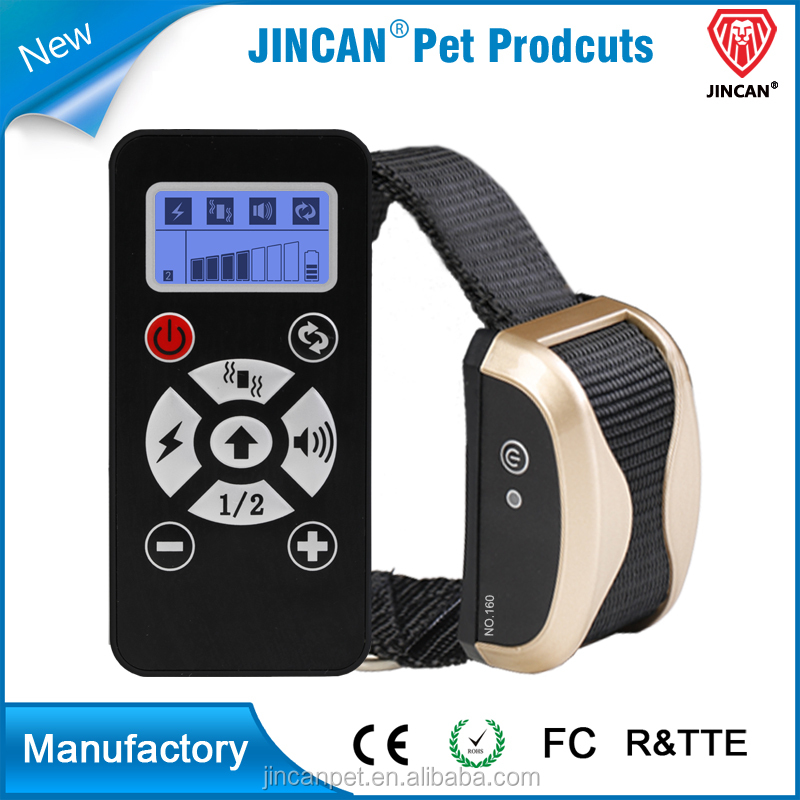 800m Electric LED Display Remote Dog Train Collar with Vibration,Static Shock and Beeper