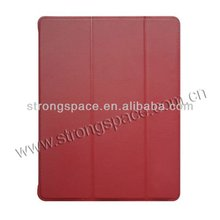 2015 hot selling leather folds cover for ipad mini