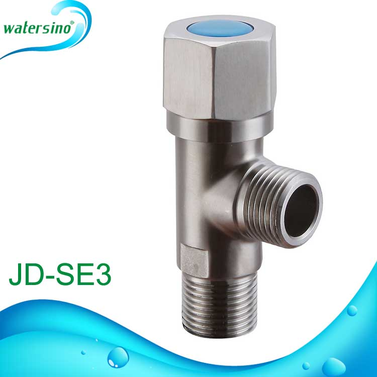 Hot sale stainless steel wall mounted 2-way angle valve