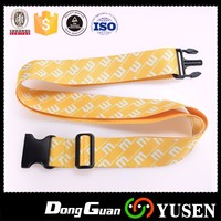 Hot Selling Personalized Heat Trnasfer Printed Polyester Luggage Straps