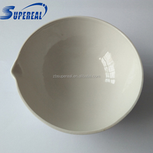 400ml glazed porcelain evaporating pan as lab supplies