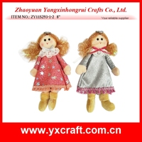With beautiful wings creative angel hanging dolls for Christmas