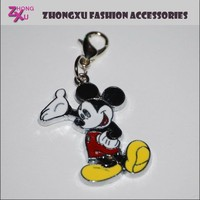new fashion custom metal enamel mickey mouse charms