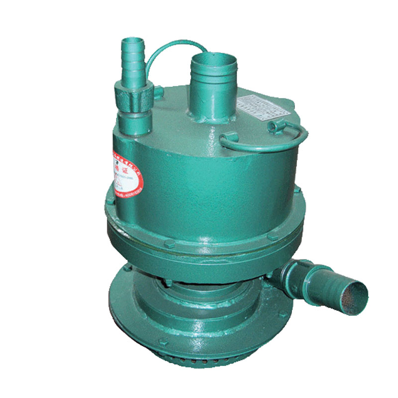 Wind energy submersible water pump for mine