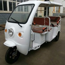 5 Seats passenger tuktuk three wheel tricycle with 2000w engine 60v battery europ Venus-SRX1
