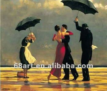 oil painting by Jack Vettriano