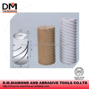 Diamond Calibrating Roller For Stone