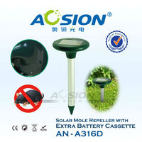 Aosion one battery door solar sonic and vibration mouse repeller(AN-A316D)