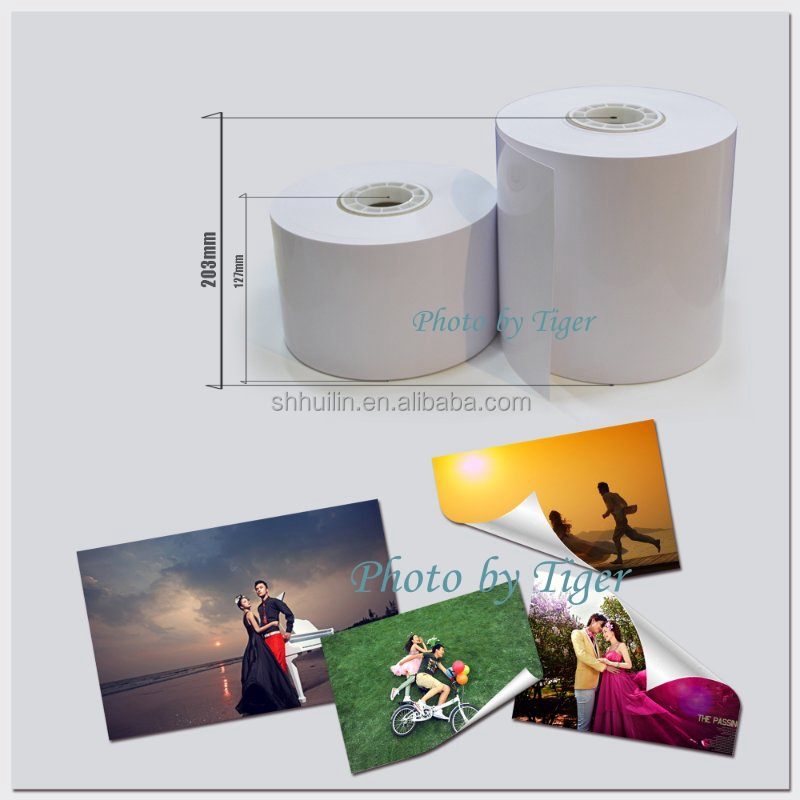 High quality 260gsm Luster photo paper rolls for Noritsu drylabs/dry minilabs