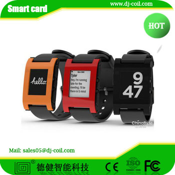 RFID watch tag ,RFID wristband , silicon and plastic