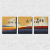 Canvas art printing simple scenery painting for bedroom