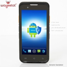 Waypotat 2016 latest rugged android smartphone with barcode scanner i6300