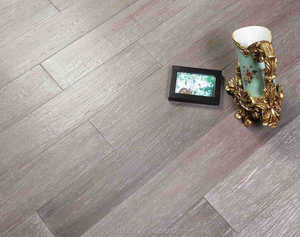 Embossed strand woven bamboo Flooring -Ashy cheap good flooring