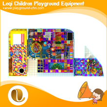 The new large indoor play equipment /eco-friendly daycare center indoor soft playground