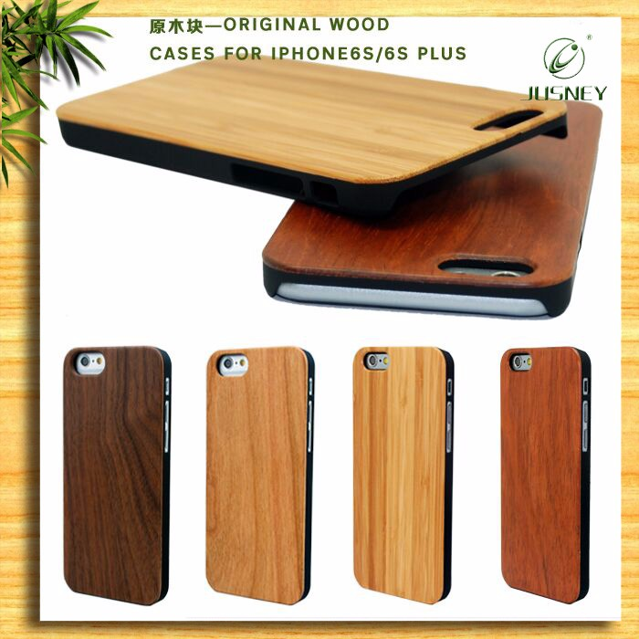 China Suppliers Mobile Phone Bamboo Wood PC Case For iPhone 5s With Girls