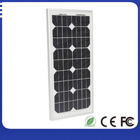 Low price A grade 35w monocrystalline pv solar power panel