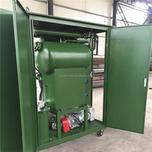 Enclosed Transformer Oil Vacuum Purification Systems