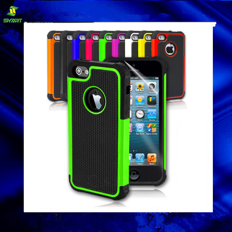New Hard Tough Heavy Duty Shockproof Cover For iPhone 5 5S 5c Case