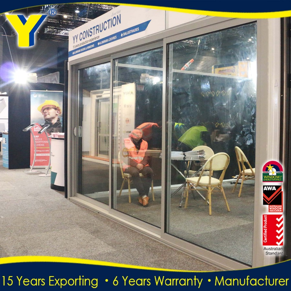Australia USA Exterior Position used commercial glass doors lowes patio doors sliding door aluminium
