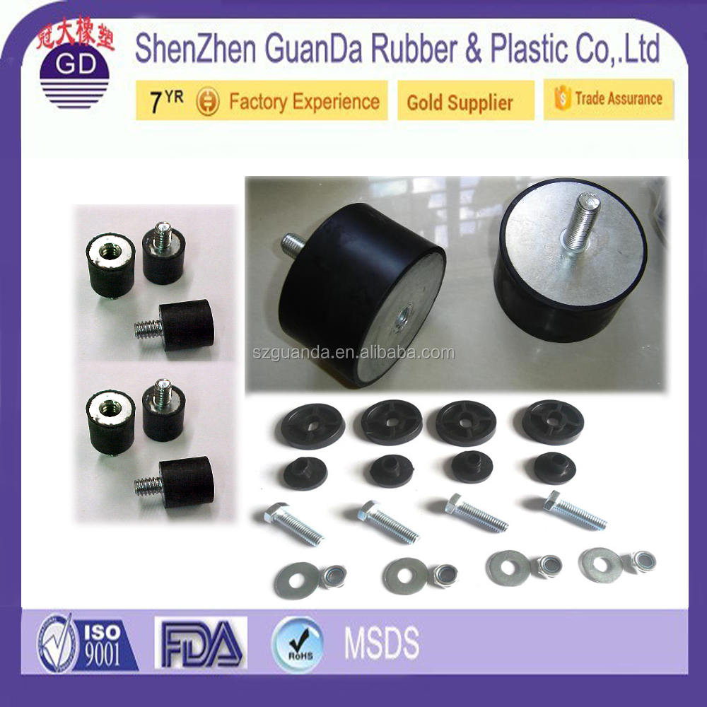 Customized Universal Rubber Exhaust Mounting Component For Various Applications