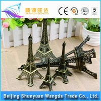 China Supply Zinc Alloy Paris Mini Tower Eiffel Model for Metal Craft
