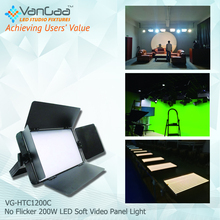 New arrival Professional led studio lighting kit broadcast light for videography Studio Photography Flat Panel